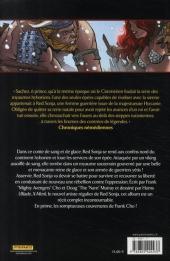 Verso de Red Sonja -4- La reine des steppes gelées