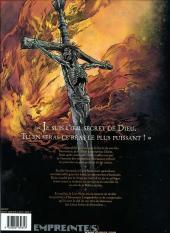Verso de Le rêve de Jérusalem -1- La milice sacrée