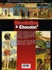 Verso de Révolution & Chocolat -2- Tome 2