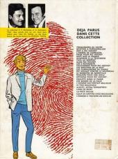 Verso de Ric Hochet -10a1978- Les 5 revenants