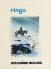 Verso de Ringo (Vance) -3- Trois salopards dans la neige