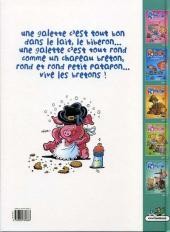 Verso de Les ripoupons -5- Chapeau bas !