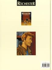 Verso de Les rochester -1- L'affaire Claudius