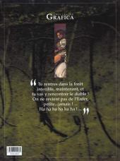 Verso de Le roman de Malemort -1- Sous les cendres de la lune