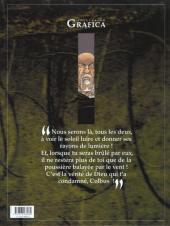 Verso de Le roman de Malemort -3- Le don du sang