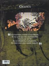 Verso de Le roman de Malemort -5- ... S'envolent les chimères