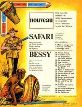 Verso de Safari (Vandersteen) -3- Etranges alliés