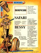 Verso de Safari (Vandersteen) -5- La chasse aux buffles