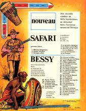 Verso de Safari (Vandersteen) -8- Le masque