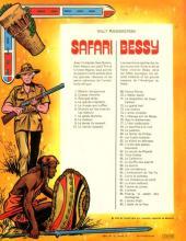 Verso de Safari (Vandersteen) -10- Le convoi suspect