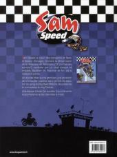 Verso de Sam Speed -2- Borne Toubi Waïld