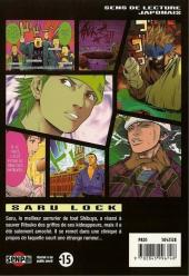 Verso de Saru Lock -5- Tome 5