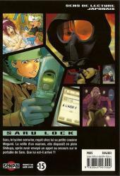 Verso de Saru Lock -6- Tome 6