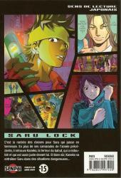 Verso de Saru Lock -8- Tome 8