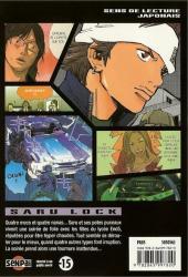 Verso de Saru Lock -9- Tome 9