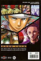 Verso de Saru Lock -10- Tome 10