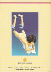 Verso de Asatte Dance -6- Volume 6 - La vie est merveilleuse