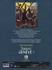 Verso de Sauvez Genève ! - 1602 l'escalade