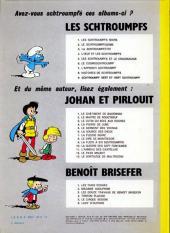 Verso de Les schtroumpfs -4a74- L'œuf et les Schtroumpfs