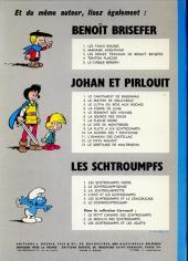 Verso de Les schtroumpfs -7- L'apprenti Schtroumpf