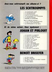 Verso de Les schtroumpfs -8- Histoires de Schtroumpfs