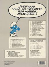 Verso de Les schtroumpfs -13- Les p'tits Schtroumpfs
