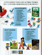 Verso de Les schtroumpfs -16Or- Le Schtroumpf financier
