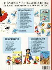 Verso de Les schtroumpfs - Schtroumpferies -3- Schtroumpferies - 3