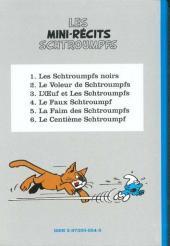 Verso de Schtroumpfs (Niffle) -2- Le Voleur de Schtroumpfs