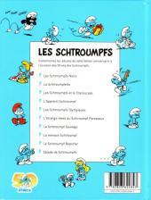 Verso de Les schtroumpfs (Édition 50 ans - minis) -2Mini- La Schtroumpfette