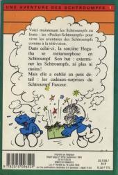 Verso de Les schtroumpfs (Hachette-Livre de poche) -1- La sorcière et les Schtroumpfs