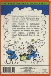 Verso de Les schtroumpfs (Hachette-Livre de poche) -2- Le Schtroumpf Magicien