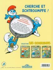 Verso de Les schtroumpfs (Jeux) -2LJ3- Où se schtroumpfe le bébé schtroumpf ?