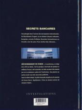 Verso de Secrets bancaires -2- Détournement de Fonds