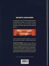 Verso de Secrets bancaires -4- Le goût de l'argent