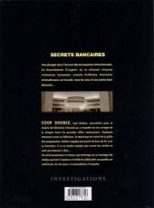 Verso de Secrets bancaires -8- Coup double