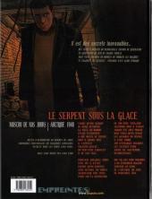 Verso de Secrets - Le serpent sous la glace -1a- Tome 1