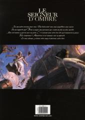 Verso de Le seigneur d'ombre -4- Une nouvelle ère