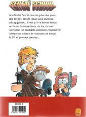 Verso de Sentaï School - L'École des héros -3- Tome 3