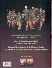 Verso de Les sentinelles (Breccia/Dorison) -1a- Juillet-août 1914, les moissons d'acier