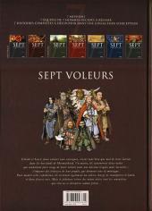 Verso de Sept -2- Sept voleurs