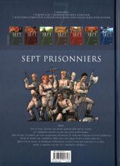 Verso de Sept -7- Sept Prisonniers