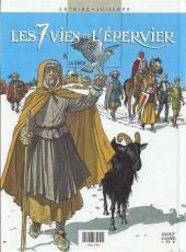 Verso de Les 7 vies de l'Épervier (Albums doubles France Loisirs) -7HS- La marque du condor / La genèse