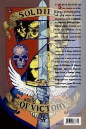 Verso de Seven Soldiers of Victory -1- Etranges aventures