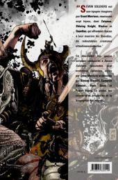 Verso de Seven Soldiers of Victory -2- Les trois jours du mort