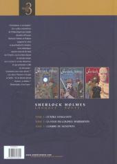 Verso de Sherlock Holmes (Croquet/Bonte) -INT- Sherlock Holmes 1