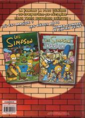 Verso de Les simpson (Jungle) -3- Quelle bidonnade !