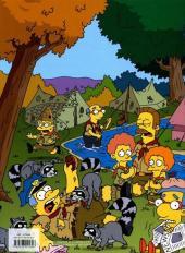 Verso de Les simpson (Jungle !) -1FL- Camping en délire