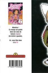 Verso de Shaman King -6- Les Deux Énormes Big Soul