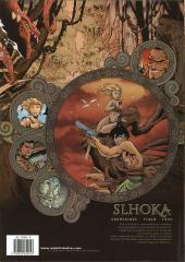 Verso de Slhoka -1a- L'Île oubliée